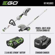 Load image into Gallery viewer, EGO Power+ Multi-Head System ME0801 3 in. 56 volt Battery Edger Kit (Battery & Charger)