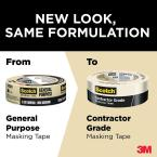 Load image into Gallery viewer, Scotch 1.41 in. x 60.1 yds. Contractor Grade Masking Tape