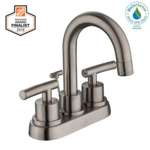 Load image into Gallery viewer, Glacier Bay Dorset 4 in. Centerset 2-Handle High-Arc Bathroom Faucet in Brushed Nickel