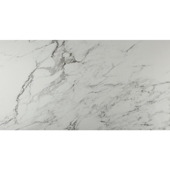 Carrara 12 in. x 24 in. Glazed Porcelain Floor and Wall Tile (2 sq. ft.) Case - Denali Building Supply