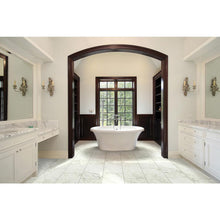 Load image into Gallery viewer, Carrara 12 in. x 24 in. Glazed Porcelain Floor and Wall Tile (2 sq. ft.) Case - Denali Building Supply