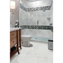 Load image into Gallery viewer, Carrara 12 in. x 24 in. Polished Porcelain Floor and Wall Tile (16 sq. ft. / case) - Denali Building Supply
