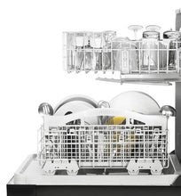 Load image into Gallery viewer, Whirlpool® 3-Cycle Black Built-In Dishwasher
