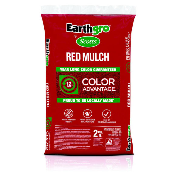 2 cu. ft. Red Mulch - Denali Building Supply