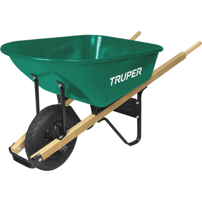 Truper Homeowner Steel Wheelbarrow
