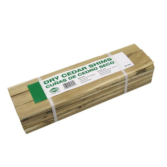 15 in. Contractor Cedar Shim - Denali Building Supply