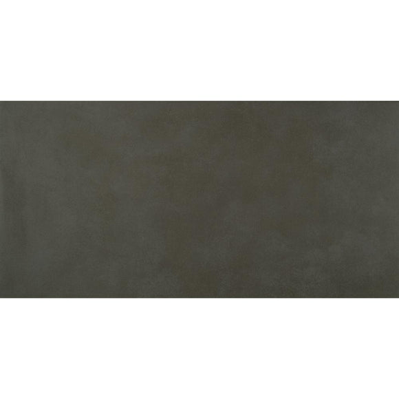 Metro Anthracite 12 in. x 24 in. Glazed Porcelain Floor and Wall Tile (14 sq. ft./case)