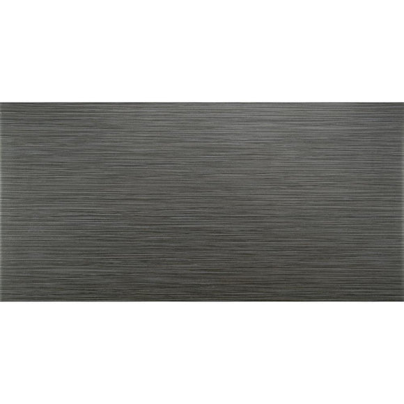 Metro Gris 12 in. x 24 in. Glazed Porcelain Floor and Wall Tile (16 sq. ft./case)