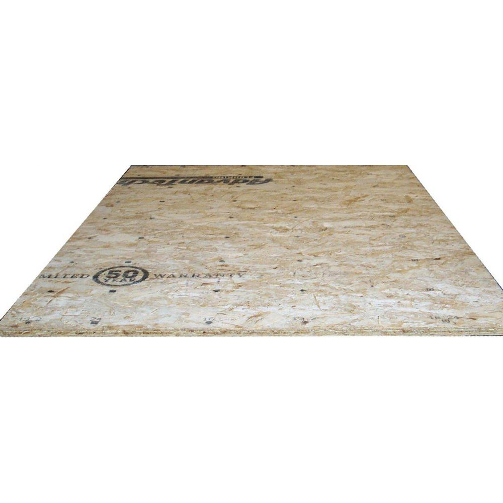 Advantech 23/32 in. x 4 ft. x 8 ft. Tongue-and-Groove Aspen OSB Underlayment Panel - Denali Building Supply