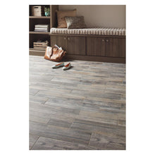 Load image into Gallery viewer, Pewter Wood 6 in. x 24 in. Glazed Porcelain Floor and Wall Tile (14.55 sq. ft. / case)