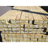 4 in. x 4 in. x 8 ft. #2 Ground Contact Pressure-Treated Southern Yellow Pine Timber - Denali Building Supply