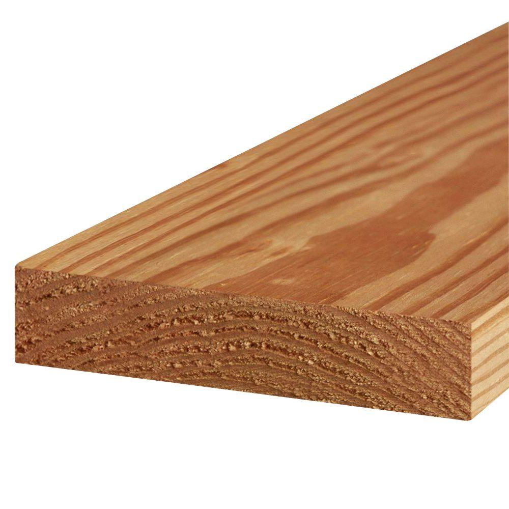 2 in. x 8 in. x 10 ft. #2 Prime Cedar-Tone Ground Contact Pressure-Treated Lumber - Denali Building Supply