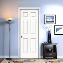 Load image into Gallery viewer, 28 in. x 80 in. Colonist Right-Hand Primed Textured Molded Composite MDF Single Prehung Interior Door with Split Jamb by JELD-WEN