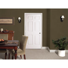 Load image into Gallery viewer, 36 in. x 80 in. Colonial Primed Textured Molded Composite MDF Interior Door Slab - Denali Building Supply