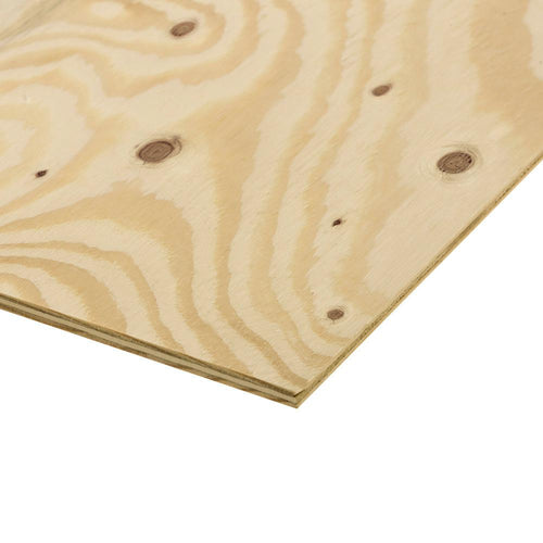 3/4 in. x 4 ft. x 8 ft. Ground Contact Pressure Treated Pine Performance Rated Sheathing - Denali Building Supply