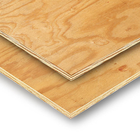 15/32 in. x 4 ft. x 8 ft. 3-Ply RTD Sheathing - Denali Building Supply