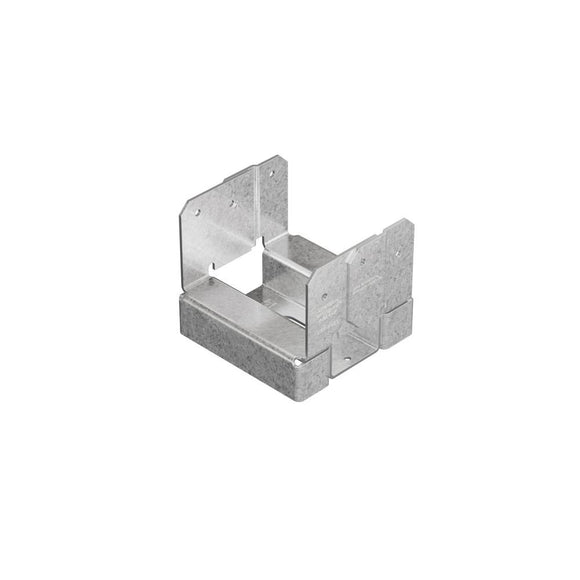 ABA ZMAX Galvanized Adjustable Standoff Post Base for 4x4 Nominal Lumber - Denali Building Supply