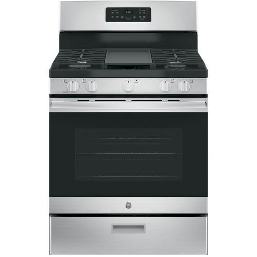 GE 30 in. 5.0 cu. ft. Gas Range in Stainless Steel - Denali Building Supply