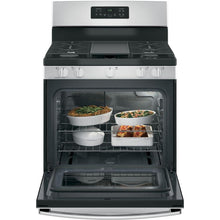 Load image into Gallery viewer, GE 30 in. 5.0 cu. ft. Gas Range in Stainless Steel - Denali Building Supply
