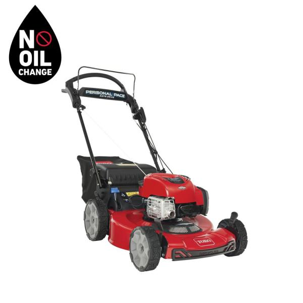 Recycler 22 in. Briggs & Stratton Personal Pace Electric Start, RWD Self Propelled Gas Walk-Behind Mower with Bagger by Toro