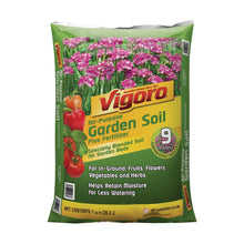 Load image into Gallery viewer, Vigoro 1 cu. ft. Garden Soil