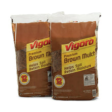 Load image into Gallery viewer, Vigoro 2 cu. ft. Bagged Brown Mulch
