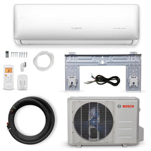 Load image into Gallery viewer, Bosch Gen 2 Climate 5000 ENERGY STAR 9,000 BTU 0.75-Ton Ductless Mini Split Air Conditioner with Heat Pump 230-Volt/60 Hz - Denali Building Supply
