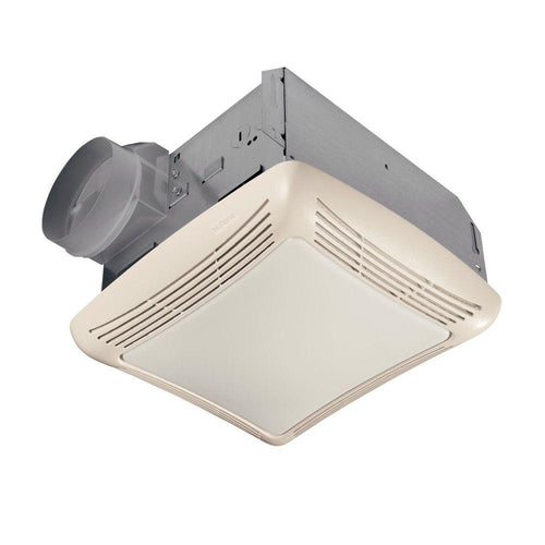 50 CFM Ceiling Bathroom Exhaust Fan with Light - Denali Building Supply
