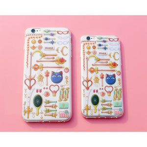Sailor Moon Magic Wand Pattern Kawaii Phone Case SP165680
