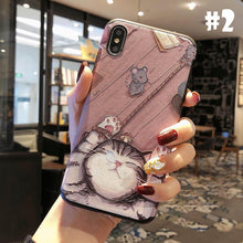 Load image into Gallery viewer, Kawaii Cat Printing Phone Case SP13958