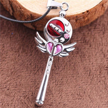 Load image into Gallery viewer, Sailor Moon Princess Serenity Moon Stick Necklace SP152809