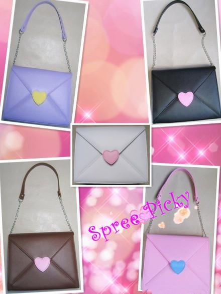 Lolita lovely envelope bag - 5 colors - SP140461