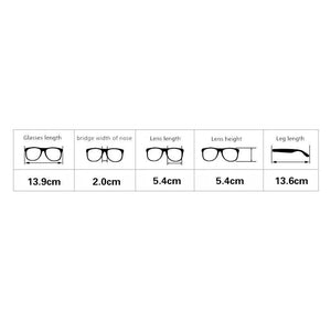 [5 Colors] Retro Metal Big Glasses SP141391