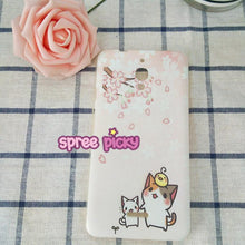 Load image into Gallery viewer, Sakura Cat Phone Case for Any Phone SP1710080