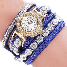 Load image into Gallery viewer, Fashion Bracelet Ladies Watch With Rhinestones Clock SS0111