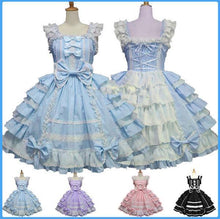 Load image into Gallery viewer, 4 Colors Gothic Lolita Princess Cosplay Dess SP153993