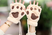 Load image into Gallery viewer, 5 Color Kawaii Cat Paw Plush Glove SP167636