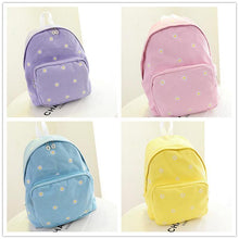 Load image into Gallery viewer, 5 Colors Mori Girl Floral Pastel Canvas Backpack SP178912