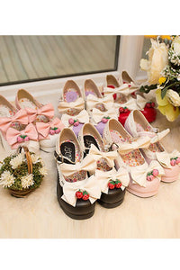 7 Colors Lolita Strawberry Princess Shoes SP153554