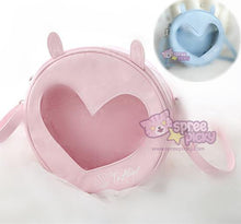 Load image into Gallery viewer, Blue/Pink Kawaii Heart Hallow Cross Body Bag SP167066