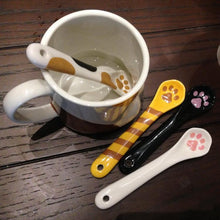 Load image into Gallery viewer, Japanese Imported Kawaii Cat Claw Ceramic Spoon SP167638
