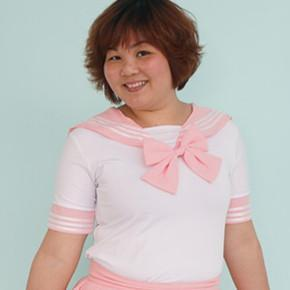 Loose Plus Size Pastel Cute Baby Pink Sailor Seifuku School Uniform Top Only SP140887