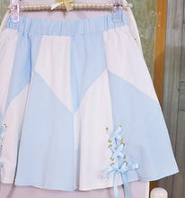 Load image into Gallery viewer, Pink/Black/Blue Lolita Pantskirt SP166879