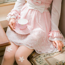 Load image into Gallery viewer, Pink Lolita Bowknot Lace Princess Dress SP178940