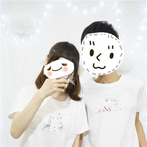 S-XL Senpai and Me Couple Tee Shirt SP166455