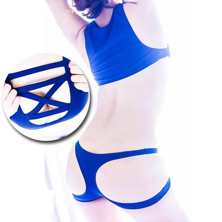 [For Photography Only] Chest Bandage Swimsuit Twinset SP166861