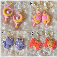 Load image into Gallery viewer, Sailor Moon Chibi Key Chain/Phone Dust plug SP153515
