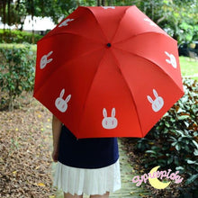 Load image into Gallery viewer, [3 Colors] Sailor Moon Crystal Usagi Bunny 3 Folding Umbrella SP151637