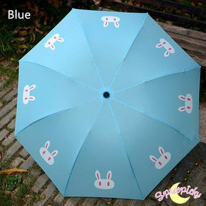 [3 Colors] Sailor Moon Crystal Usagi Bunny 3 Folding Umbrella SP151637