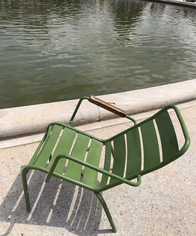 lazy green chair